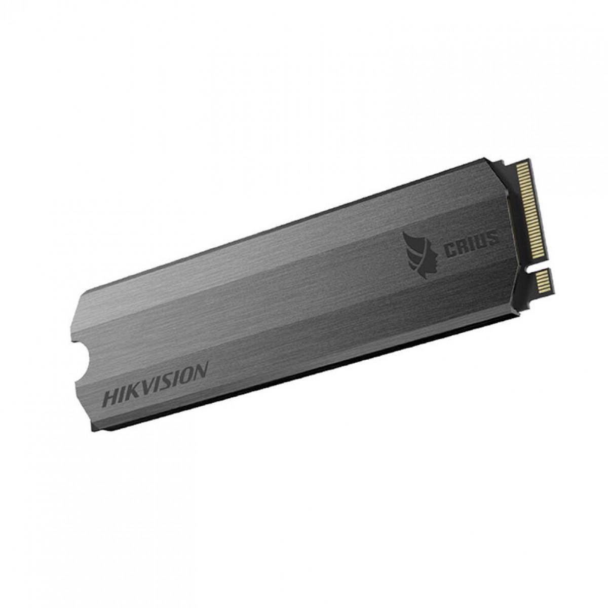 SSD Hikvision E-2000 256GB, M.2 NVME, Leitura 3100MBs e Gravação 1300MBs, HS-SSD-E2000-256GB