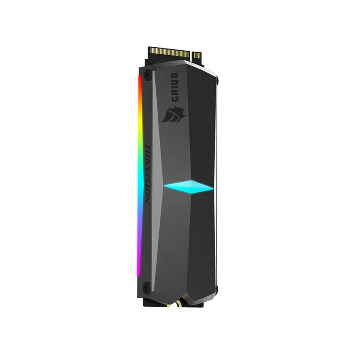 SSD Hikvision E-2000R 1024GB, M.2 NVME, Leitura 3450MBs e Gravação 2900MBs, HS-SSD-E2000R-1024GB