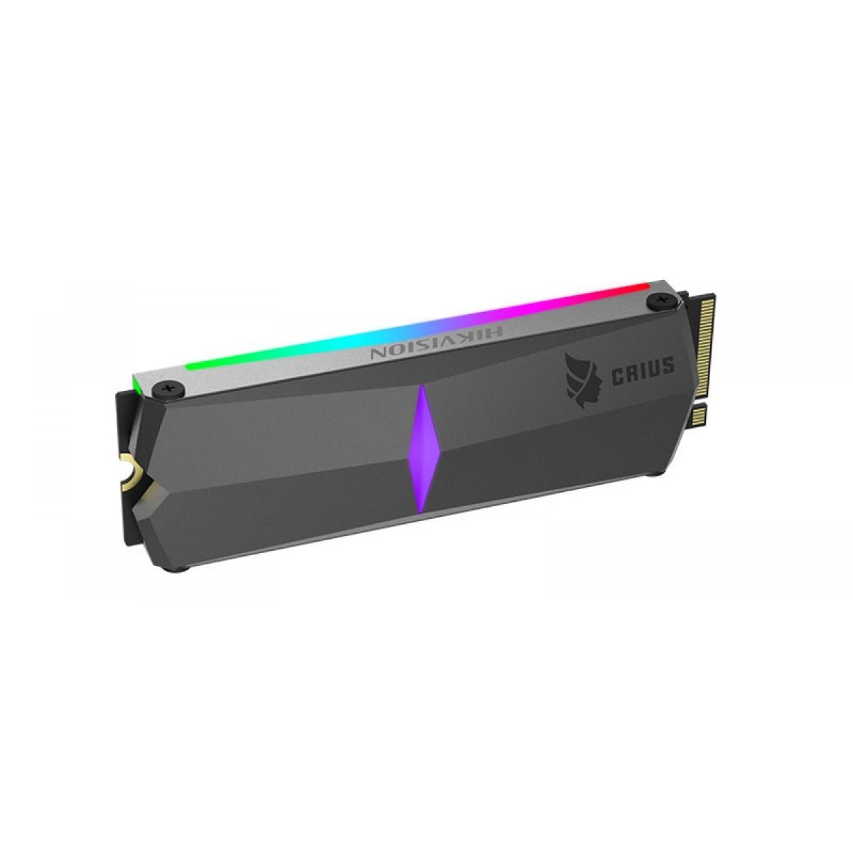 SSD Hikvision E-2000R 1TB, M.2 NVME, Leitura 3450MBs e Gravação 2900MBs, HS-SSD-E2000R-1024GB