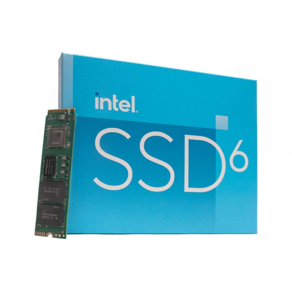 SSD Intel 670P, 512GB, M.2 NVMe, Leitura 3000MBs, Escrita 1600MBs, SSDPEKNU512GZX1