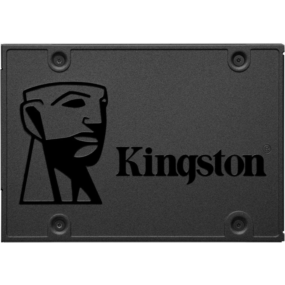 SSD Kingston A400, 120GB, Sata III, Leitura 500MBs Gravação 320MBs, SA400S37/120G