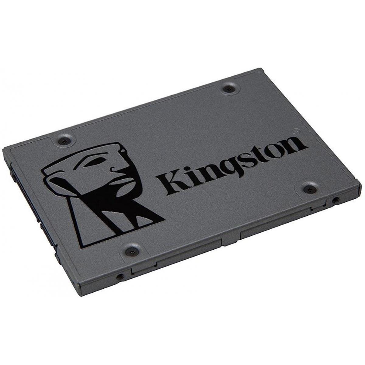 SSD Kingston UV500, 240GB, Sata III, Leitura 520MBs e Gravação 500MBs, SUV500/240G