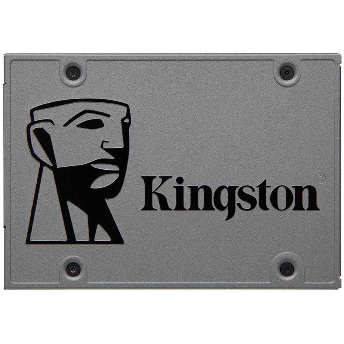 SSD Kingston UV500, 480GB, Sata III, Leitura 520MBs e Gravação 500MBs, SUV500/480G