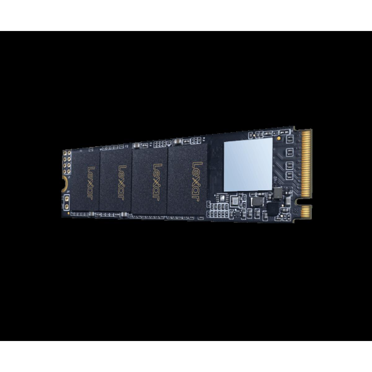 SSD Lexar NM610, M.2 NVMe, 250GB, Leitura 2000 MB/s e Gravação 1200 MB/s, LNM610-250RBNA