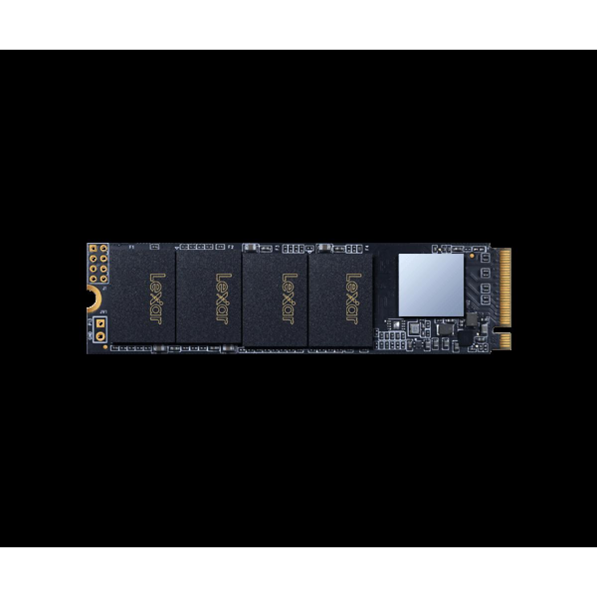 SSD Lexar NM610, M.2 NVMe, 500GB, Leitura 2100 MB/s e Gravação 1600 MB/s, LNM610-500RBNA