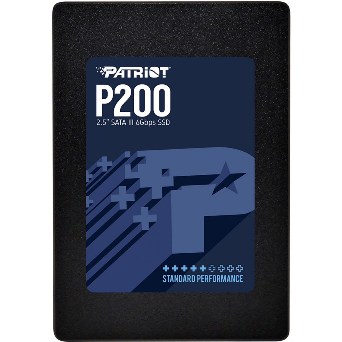 SSD Patriot P200, 128GB, Sata III, Leitura 500MBs e Gravação 430MBs, P200S128G25C