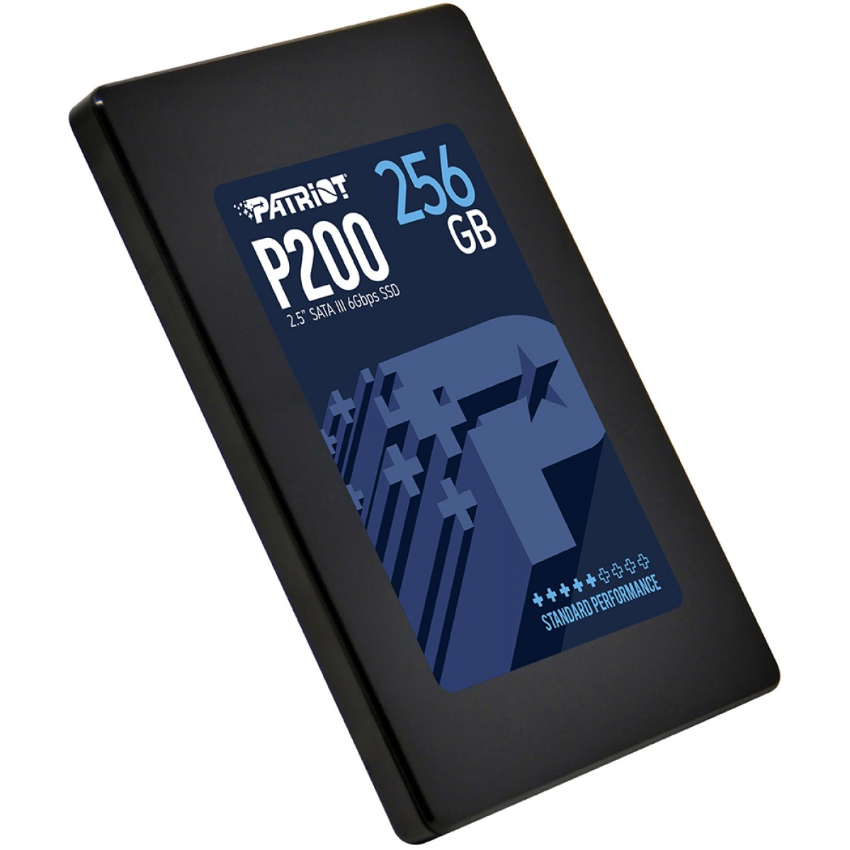 SSD Patriot P200, 256GB, Sata III, Leitura 500MBs e Gravação 460MBs, P200S256G25C