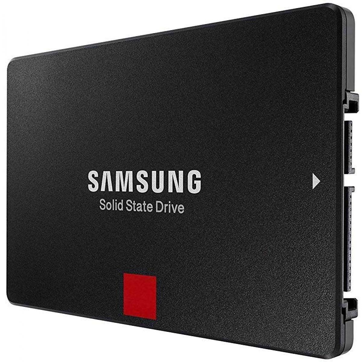 SSD Samsung 860 Pro, 256GB, Sata III, Leitura 560MBs e Gravação 530MBs, MZ-76P256E
