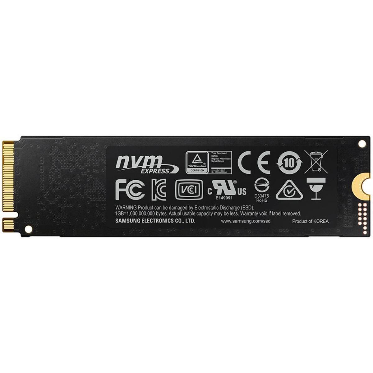SSD Samsung 970 EVO Plus, 250GB, M.2 2280, NVMe, Leitura 3500MBs e Gravação 2300MBs, MZ-V7S250B/AM
