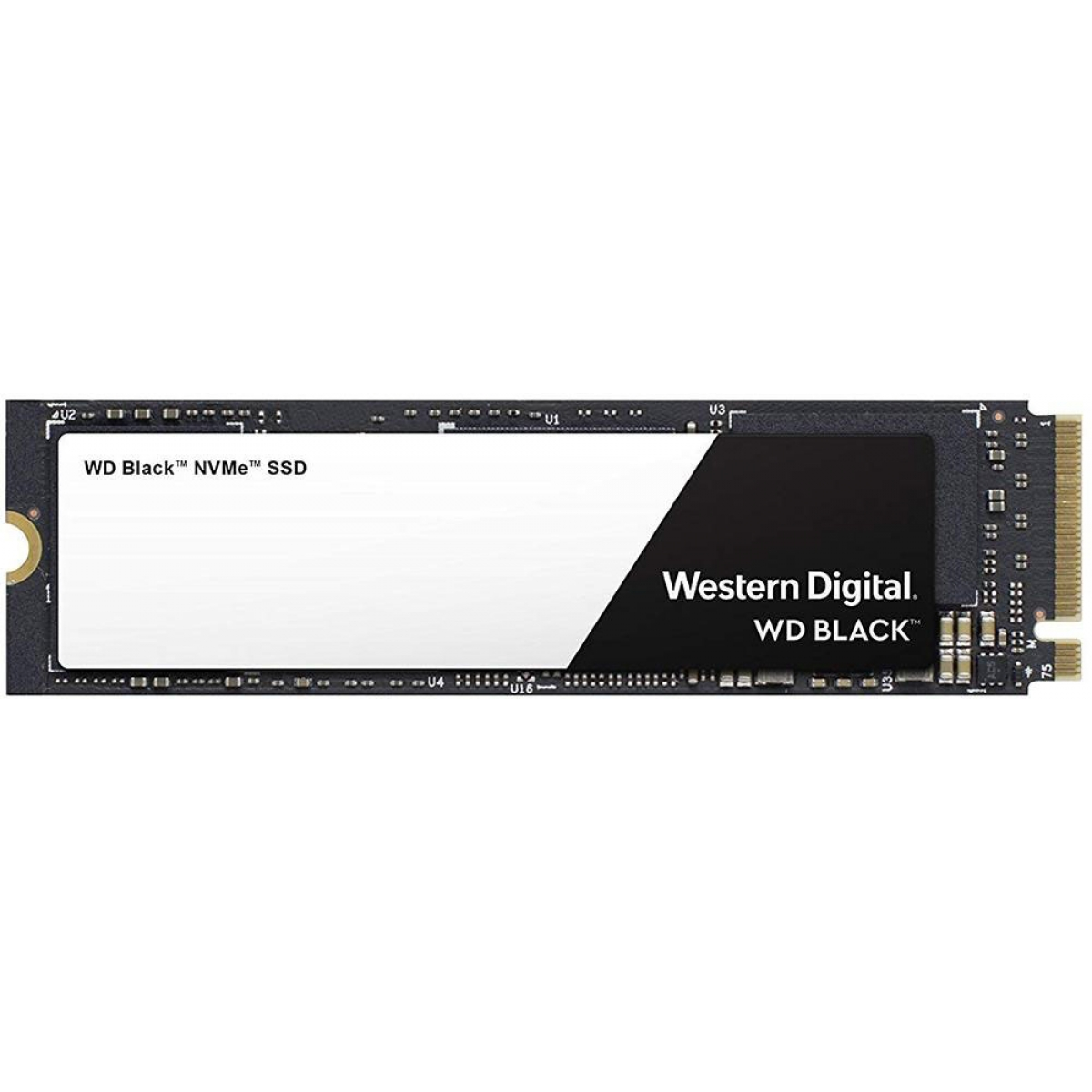 SSD WD Black, 500GB, M.2 2280, NVMe, Leitura 3400MBs e Gravação 2500MBs, WDS500G2X0C