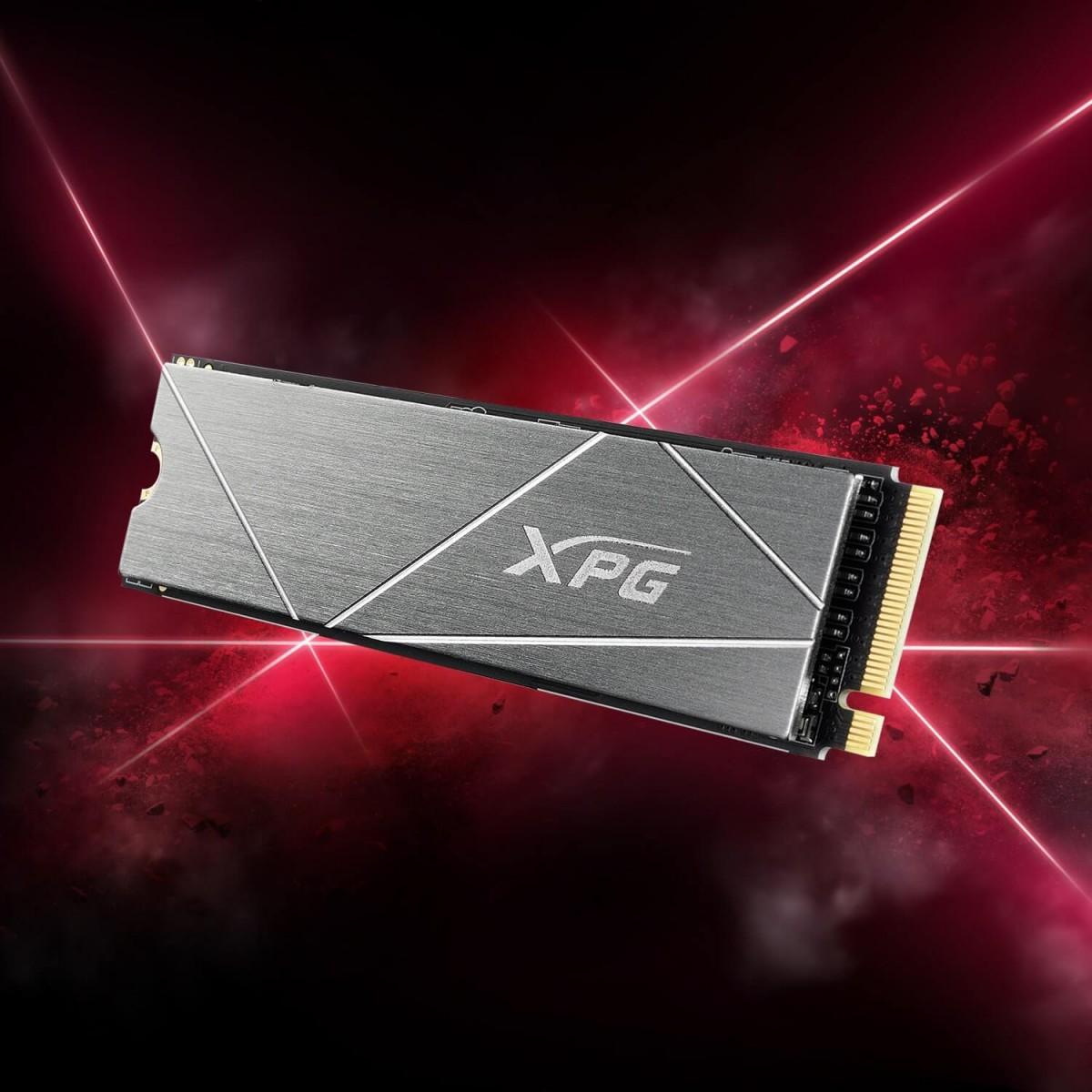 SSD XPG GAMMMIX S50G Lite 1TB, M.2 2280 NVMe, Leitura 3900MBs e Gravação 3200MBs, AGAMMIXS50L-1T-C