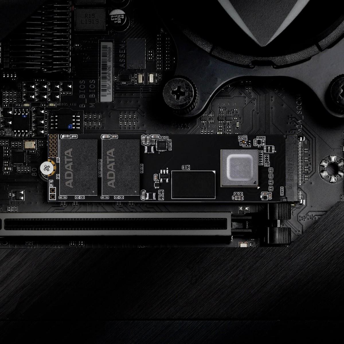 SSD XPG GAMMMIX S50G Lite 2TB, M.2 2280 NVMe, Leitura 3900MBs e Gravação 3200MBs, AGAMMIXS50L-2T-C
