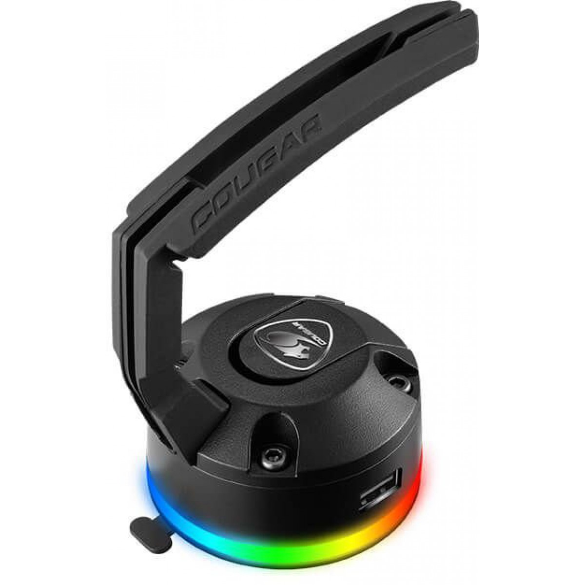 Suporte Mouse Bungee Cougar Bunker, RGB, Black
