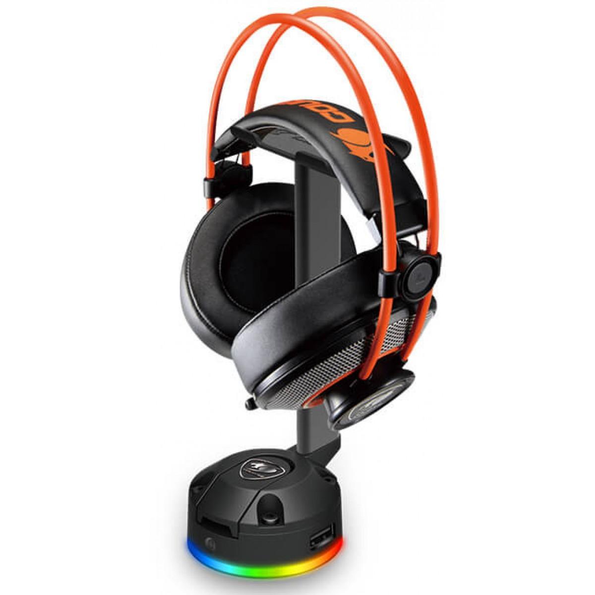 Suporte Para Headset Cougar Bunker S RGB, 3MBSRXXB-0001