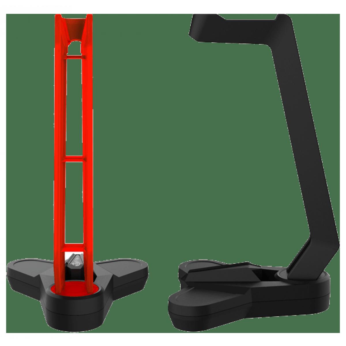 Suporte para Headset Fantech Tower, Black, AC3001