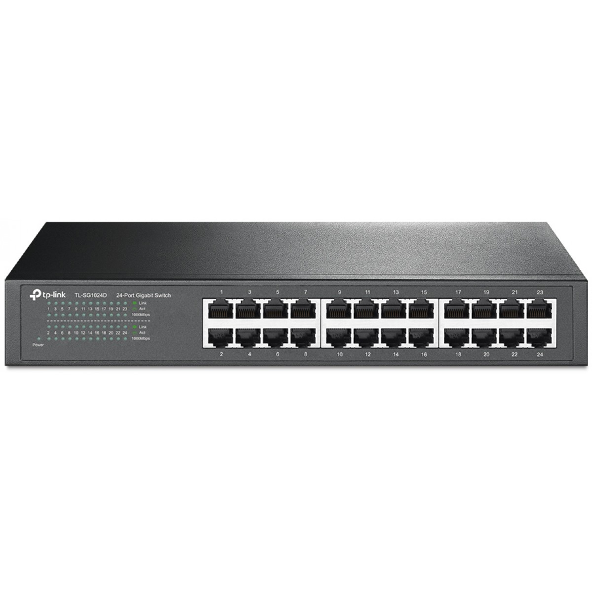 Switch Wired TP-Link Gigabit 24 Portas, TL-SG1024D