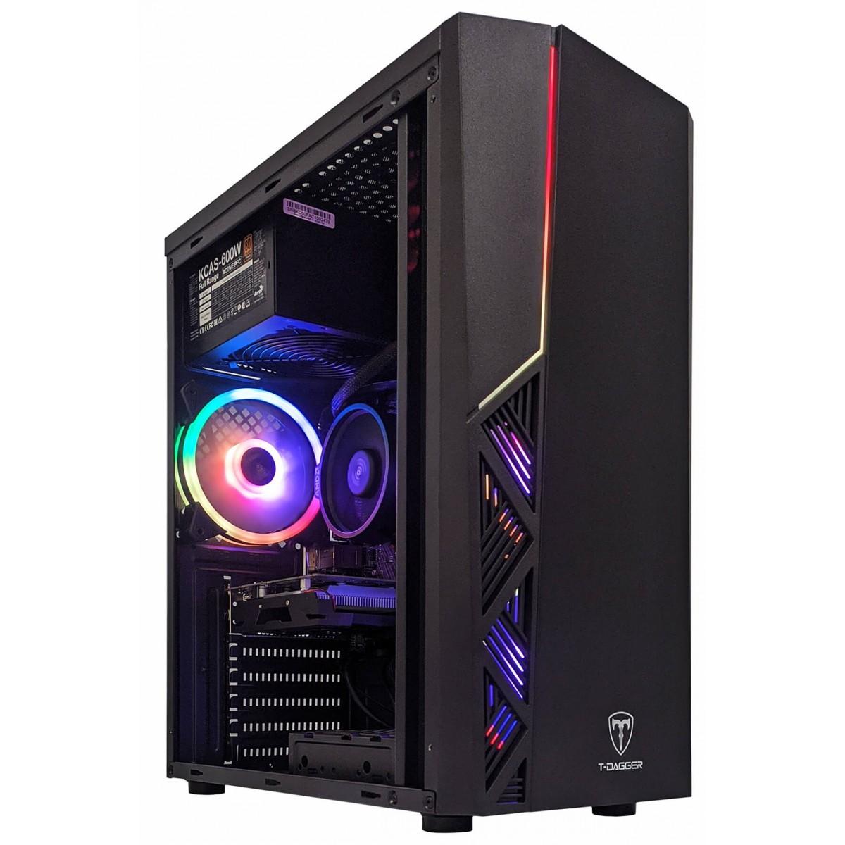 Computador T-Home Lion AMD Ryzen 5 3500 / NVIDIA GeForce GT 710 / DDR4 8GB / SSD 120GB