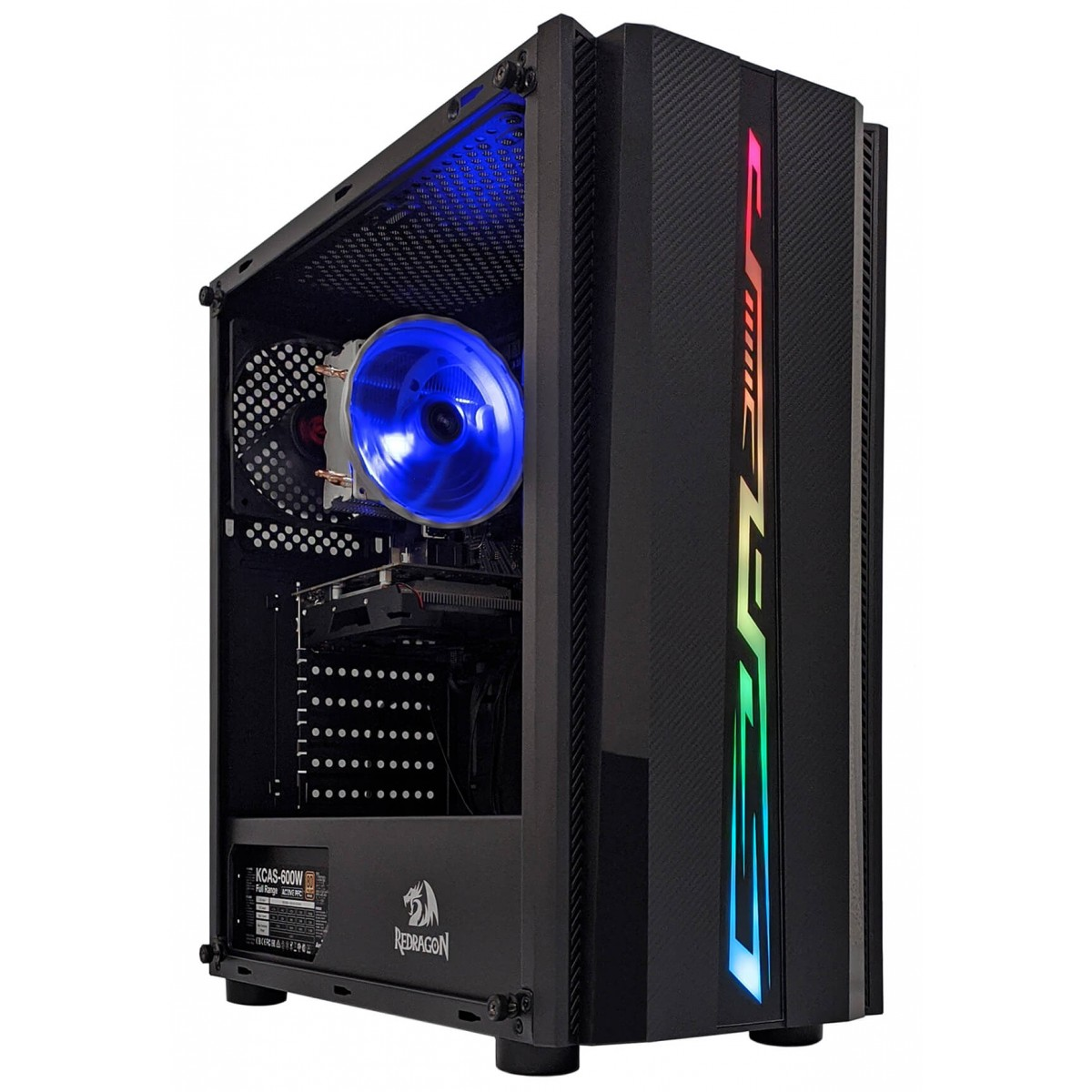 PC Gamer T-MOBA Tiger AMD Ryzen 3 PRO 3200GE / NVIDIA GeForce GTX 1660 Super / DDR4 8GB / SSD 120GB