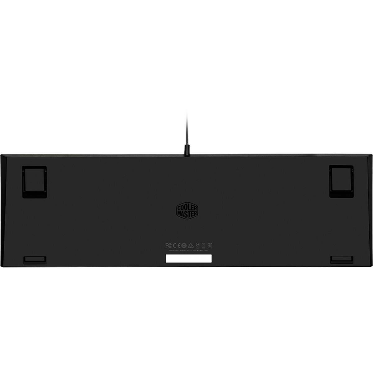 Teclado Gamer Cooler Master MK110 RGB, Semi Mecânico, MK-110-KKMF1-BR
