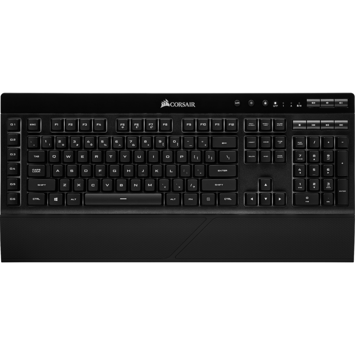 Teclado Gamer Corsair 57 RGB WIRELESS, Backlit RGB LED CH-925C015-NA