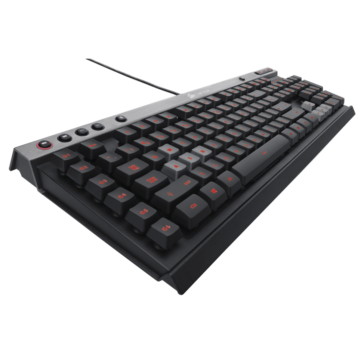 Teclado Gamer Corsair Raptor K40 Multi Color Backlighting, CH-9000051-NA