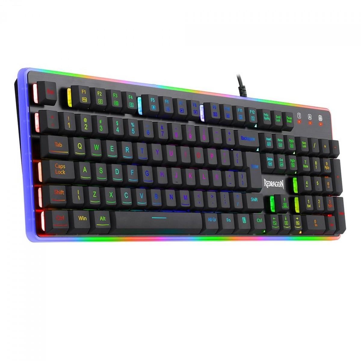 Teclado Gamer Dyaus 2, RGB, Black, ABNT2, K509RGB (PT)