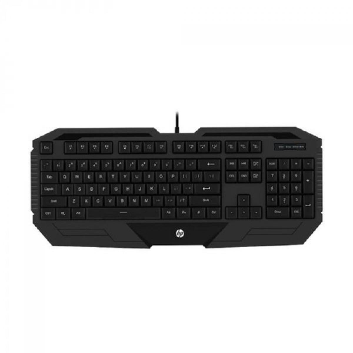Teclado Gamer HP K130, Membrana, USB, Black