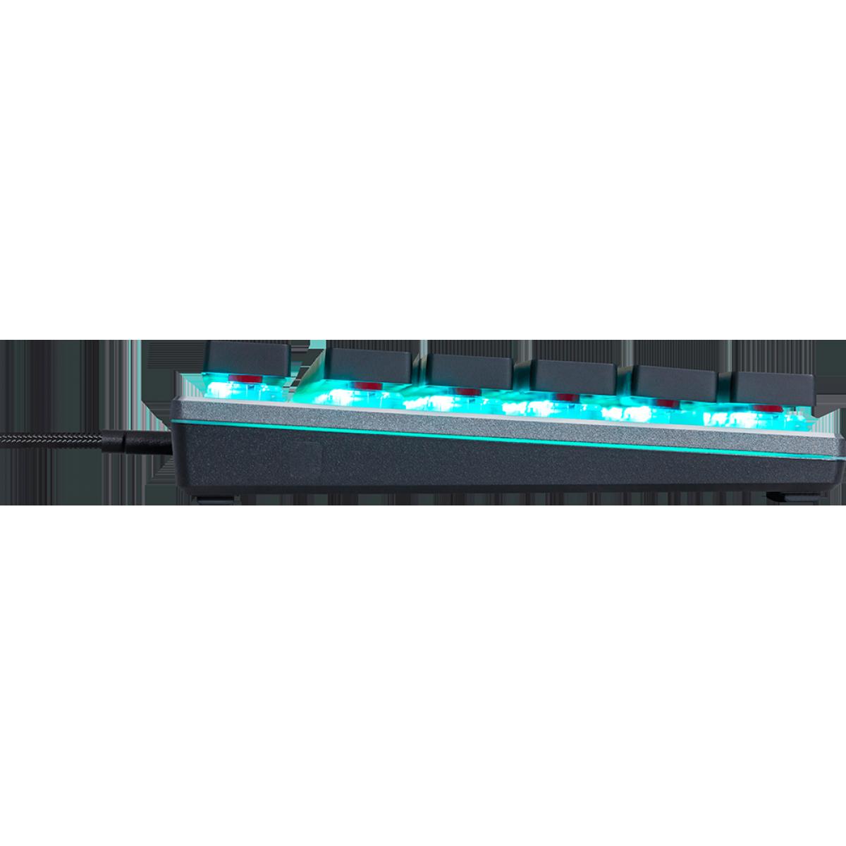 Teclado Gamer Mecânico Cooler Master SK630 RGB, Switch Low Profile Red, SK-630-GKLR1-PT