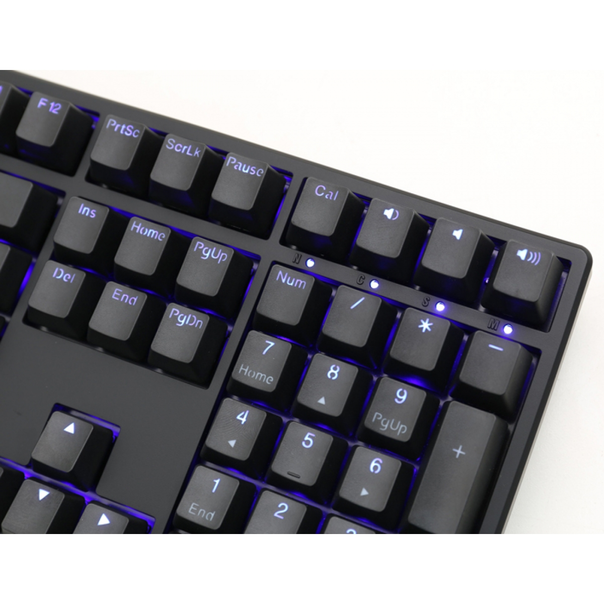 Teclado Gamer Mecanico Ducky Channel One, LED Blue, Switch Red