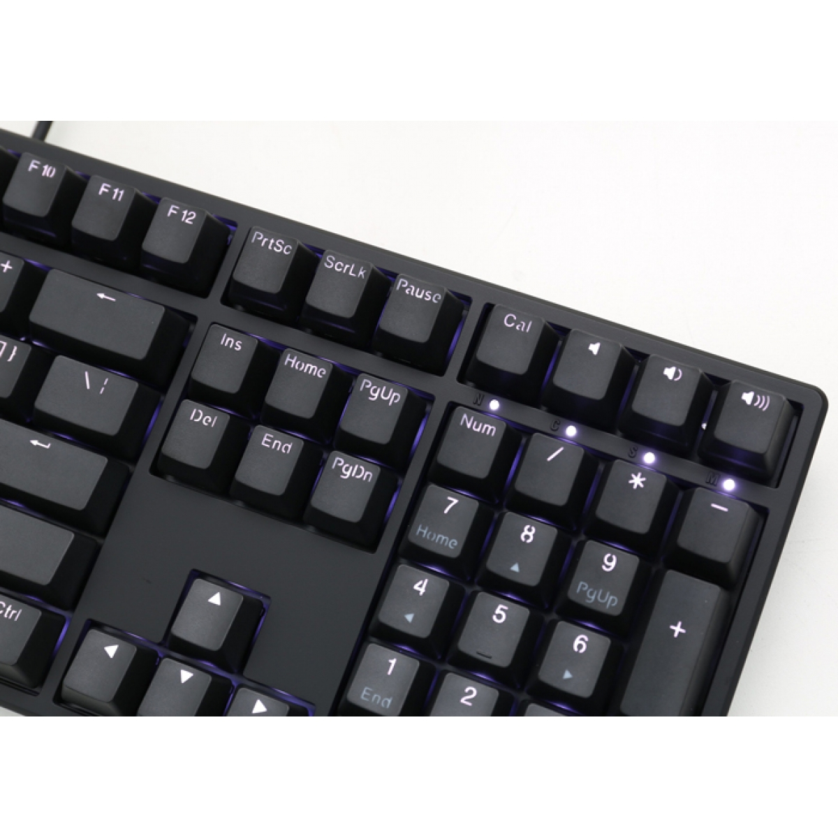 Teclado Gamer Mecanico Ducky Channel One, LED Branco, Switch Red
