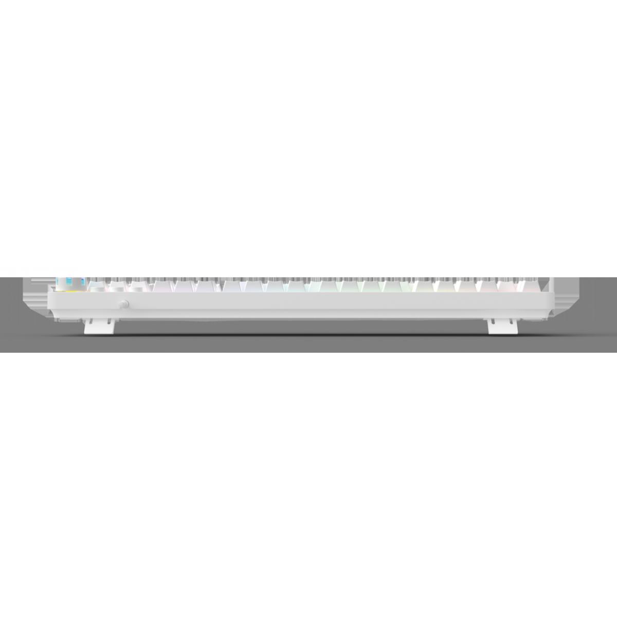 Teclado Gamer Mecânico Fantech Max Core Edição Space, RGB, Switch Brown, White, MK852