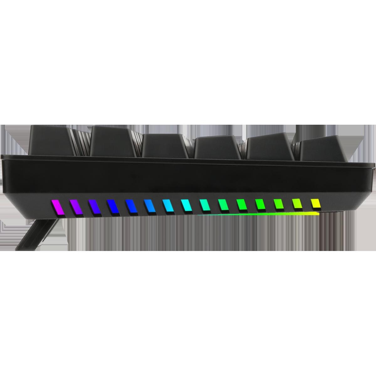 Teclado Gamer Mecânico T-Dagger Bermuda, Switch Blue, Black