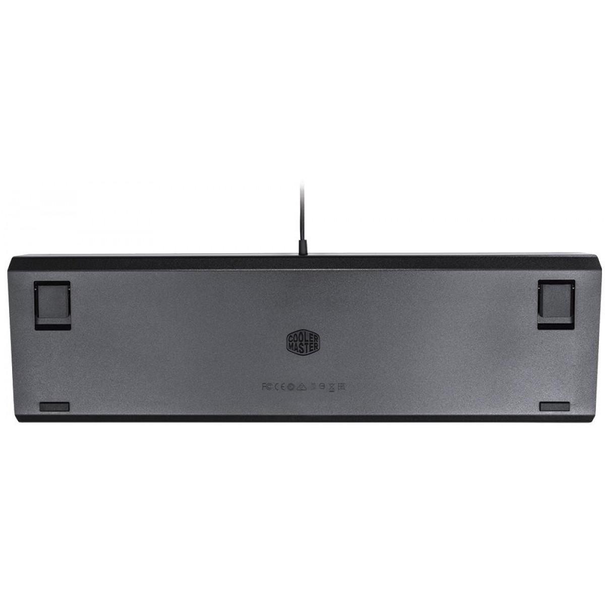 Teclado Mecânico Gamer Cooler Master CK550 RGB, Switch Gateron Red, ABNT2, CK-550-GKGR1