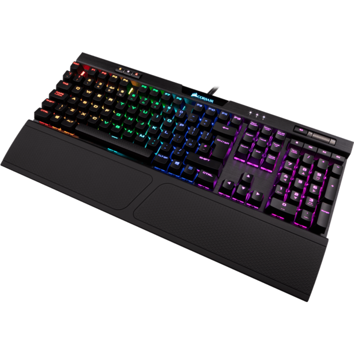 Teclado Mecânico Gamer Corsair K70 RGB MK.2, Switch Cherry MX Red, ABNT2, CH-9109010-BR