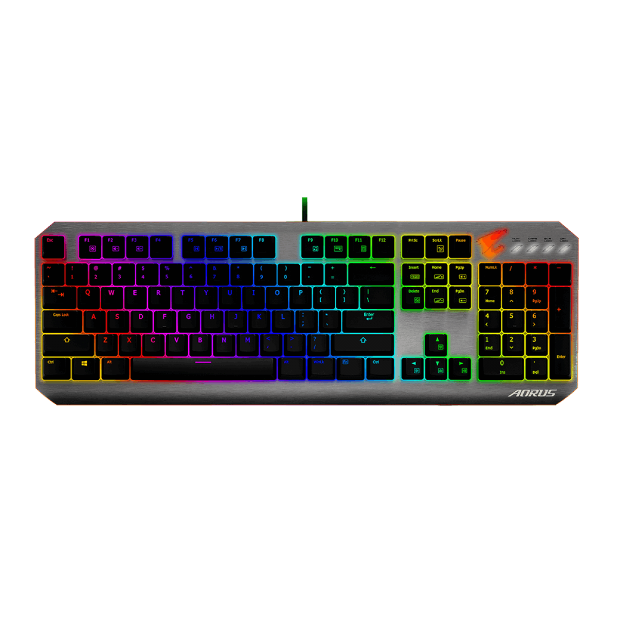 Teclado Mecânico Gamer Gigabyte Aorus K7 RGB Switch Cherry MX