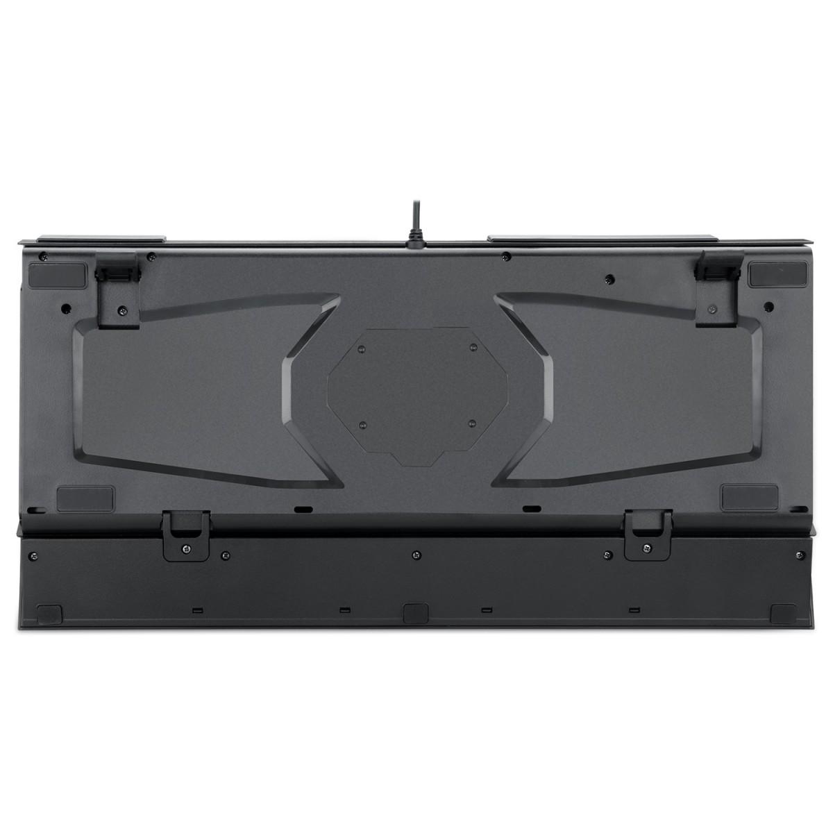 Teclado Mecânico Gamer Redragon Surya  2 K563RGB-1, Switch Outemu Blue, Black