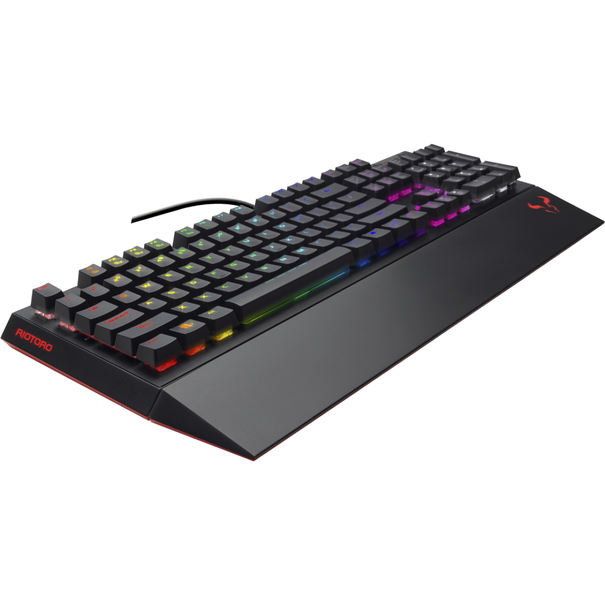 Teclado Mecânico Riotoro, Ghostwriter Prism RGB, Cherry MX Blue, RGB, Black, KR710-XP