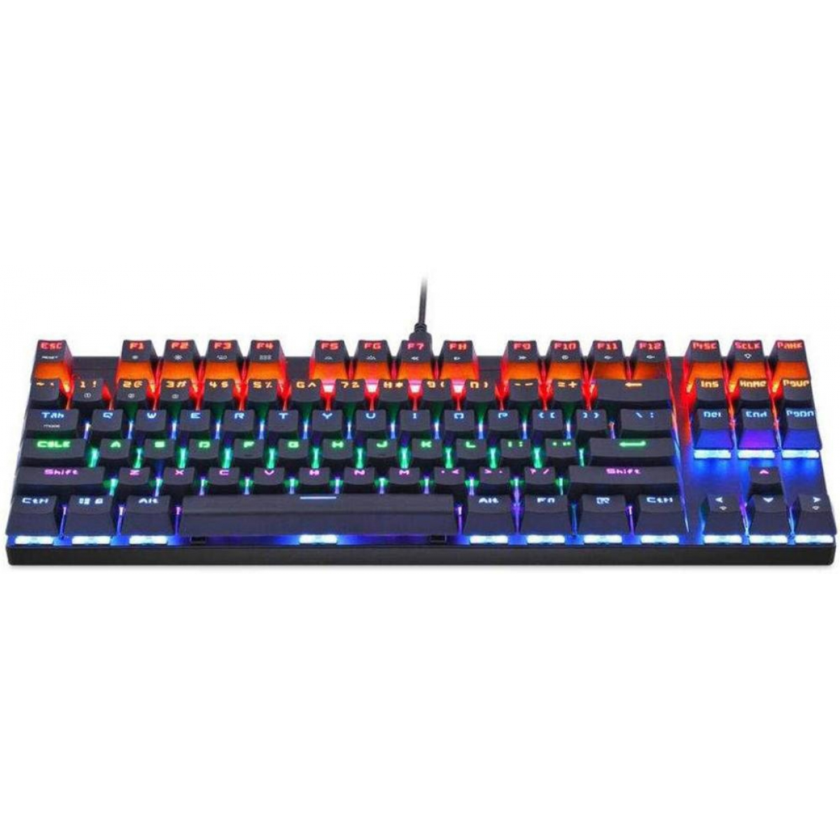 Teclado Mecânico Gamer MotoSpeed K83 Rainbow, Switch Outemu Blue, FMSTC0013PTO