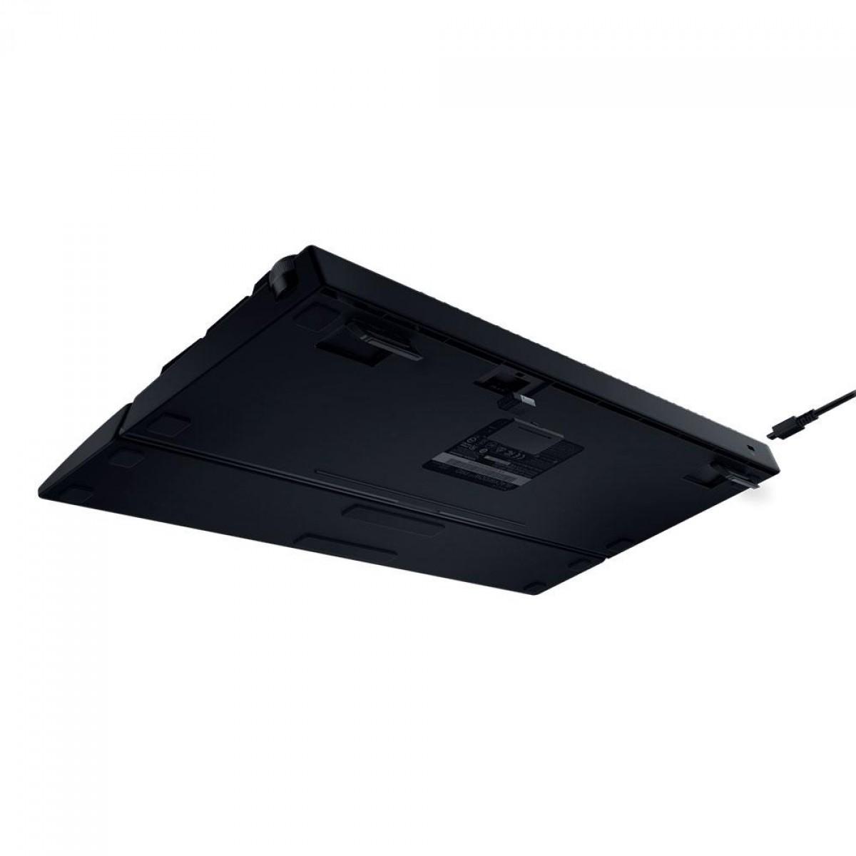 Teclado Sem Fio Mecânico Gamer Razer BlackWidow V3 Pro, Chroma, Razer Switch Yellow, US, RZ03-03531700-R3M1