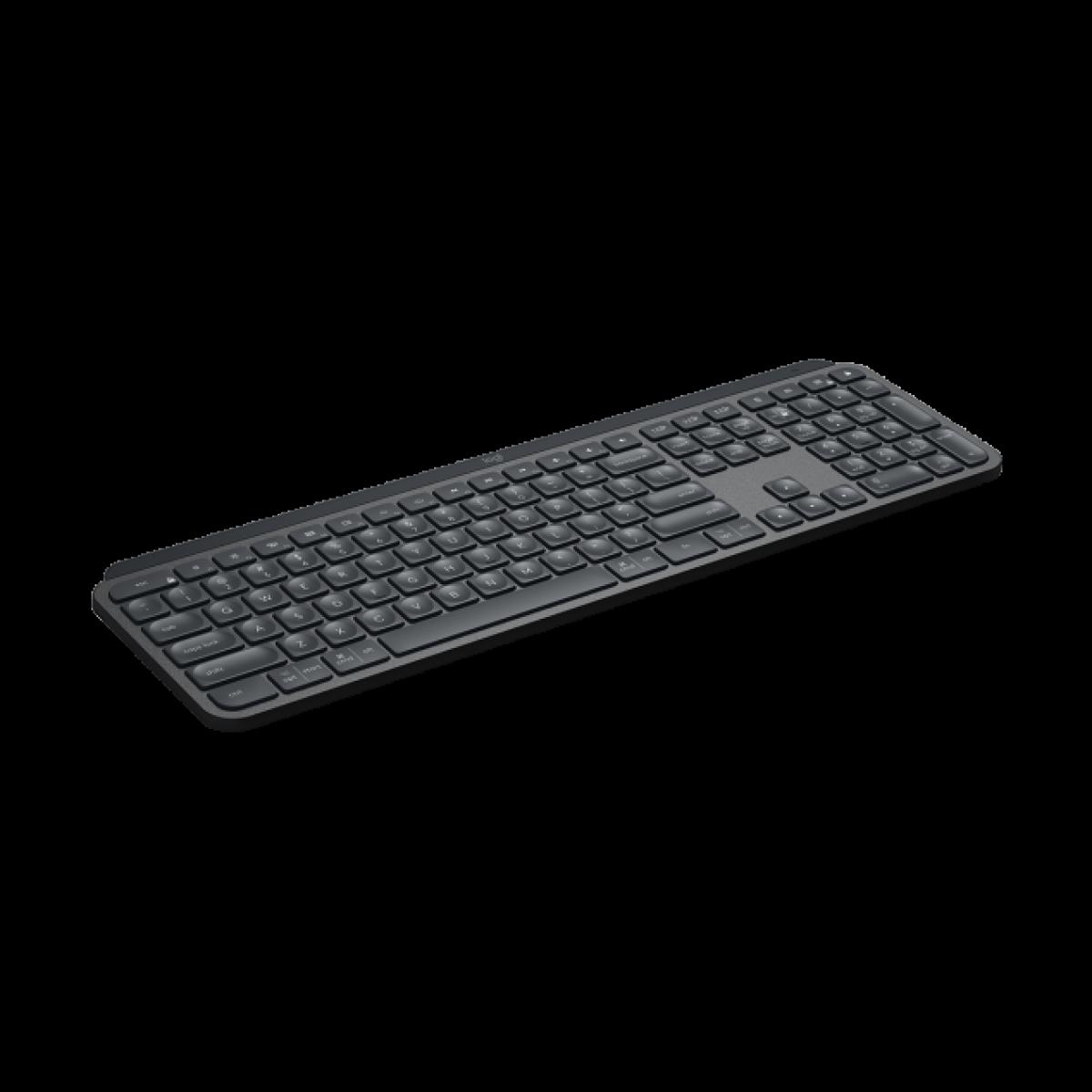 Teclado Wireless Logitech MX Keys, Black, 920-009297