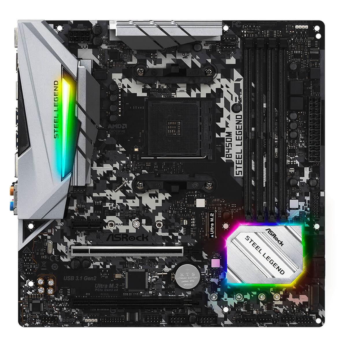 Kit Upgrade Asrock B450M Steel Legend + AMD Ryzen 5 PRO 4650G 3.7GHz