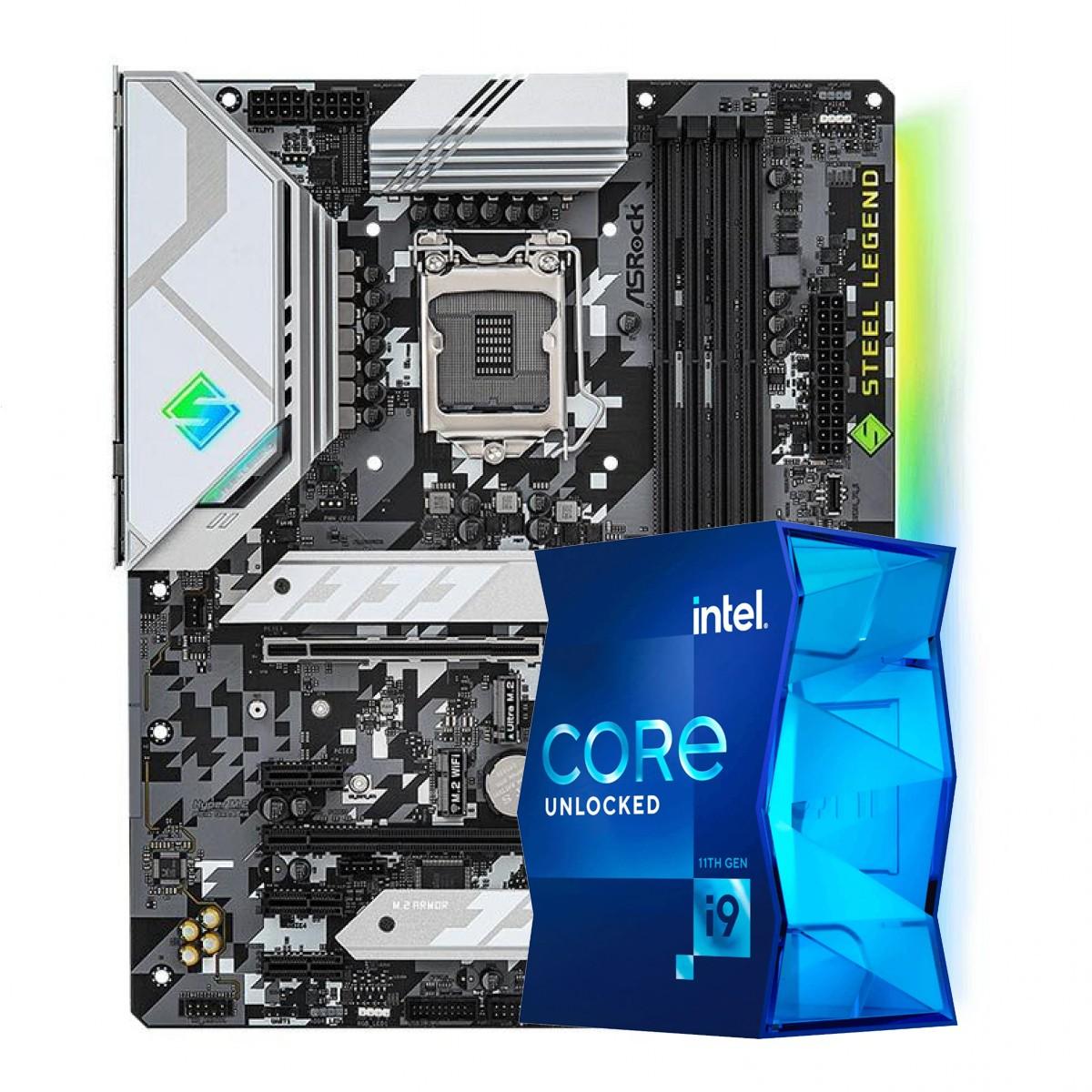Kit Upgrade, ASRock Z590 Steel Legend + Intel Core i9 11900K
