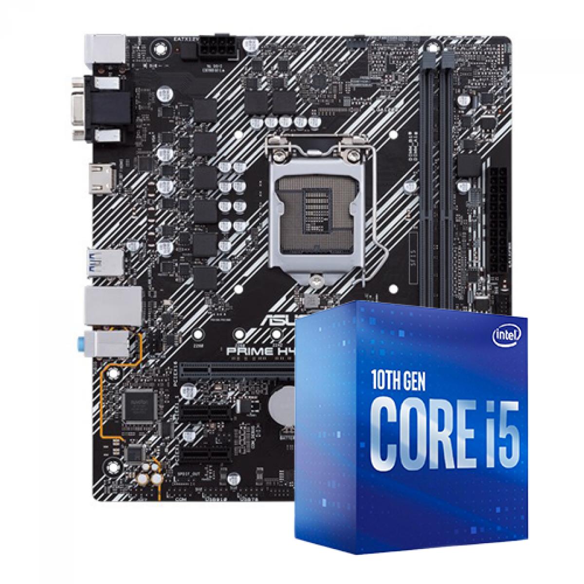 Kit Upgrade, Intel i5 10400F, ASUS Prime H410M-E