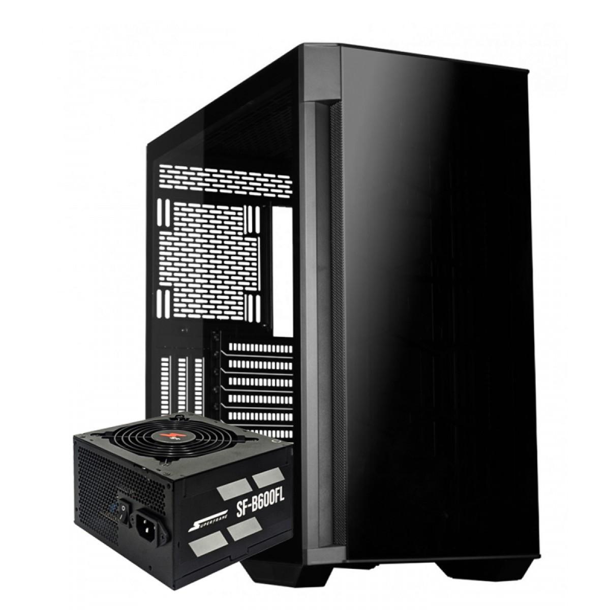 Kit Upgrade, Gabinete Redragon Megatron, Fonte SuperFrame 600W