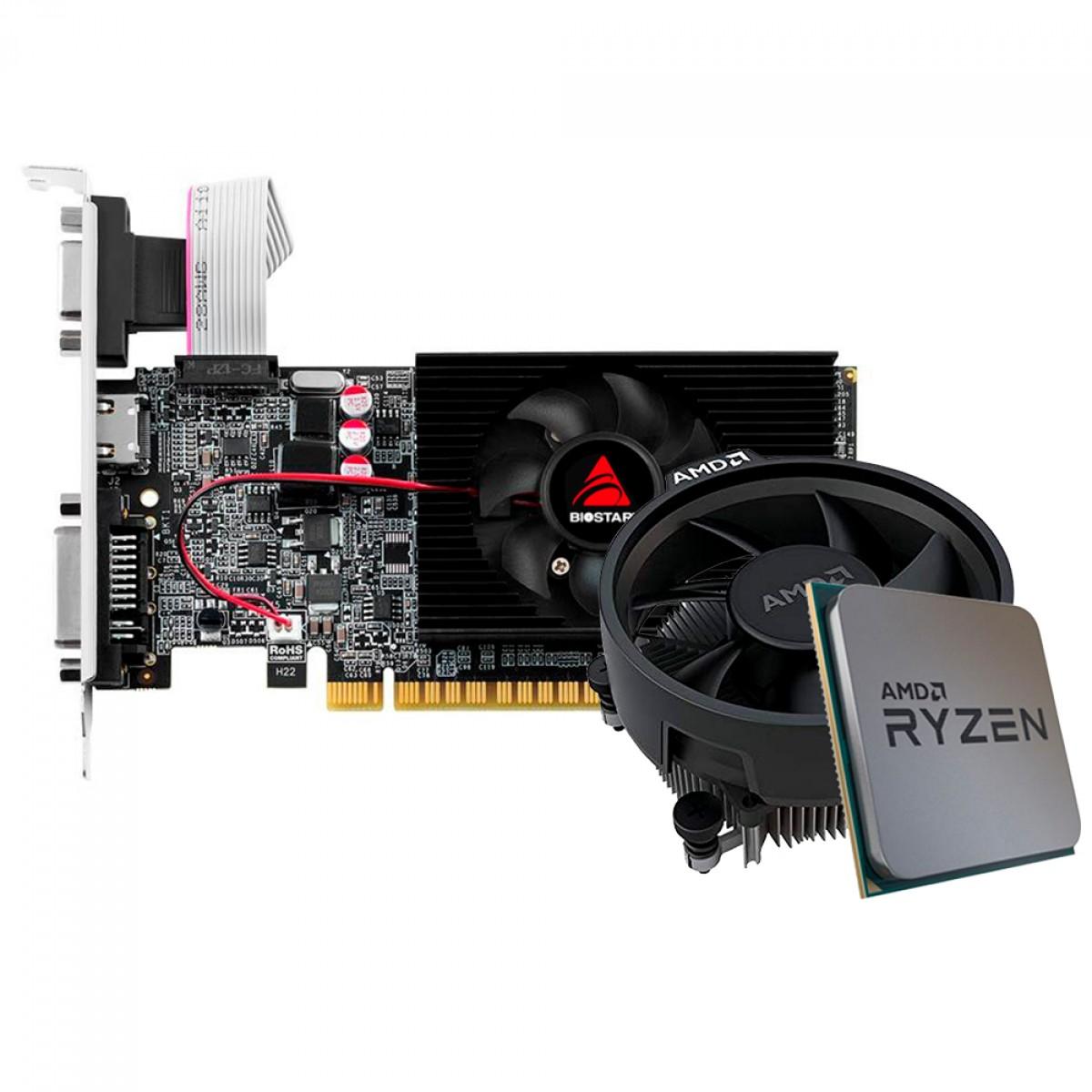 Kit Upgrade Biostar GeForce GT 610 + AMD Ryzen 5 3500