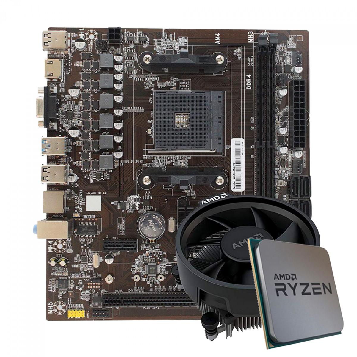 Kit Upgrade Ryzen 3 3200G + AFox A320