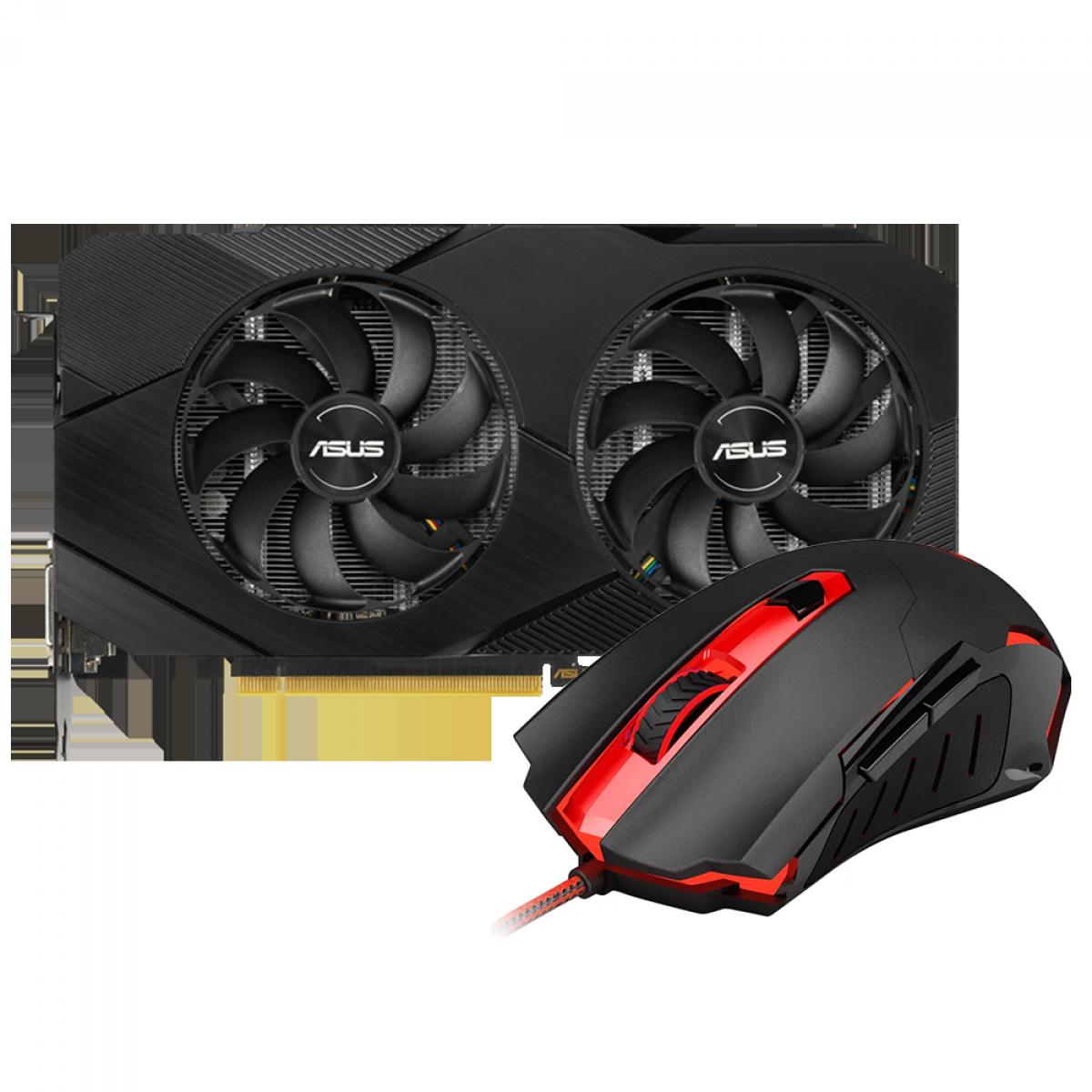 Kit Upgrade ASUS GeForce RTX 2060 OC EVO Dual + Redragon Pegasus M705