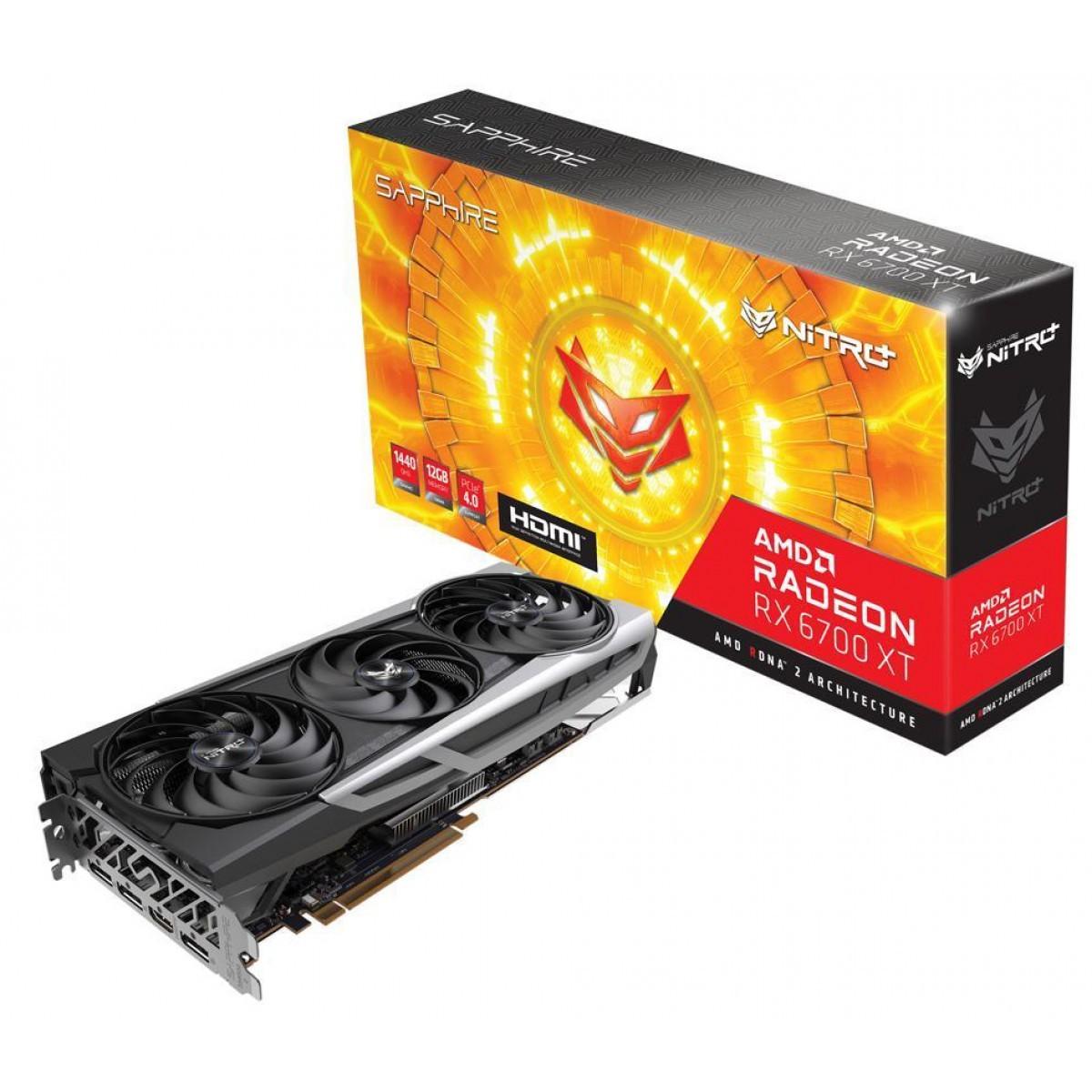 Kit Upgrade Sapphire Radeon Nitro+ AMD Radeon RX 6700 XT + AMD Ryzen 7 3700X + Brinde Jogo Dirt 5