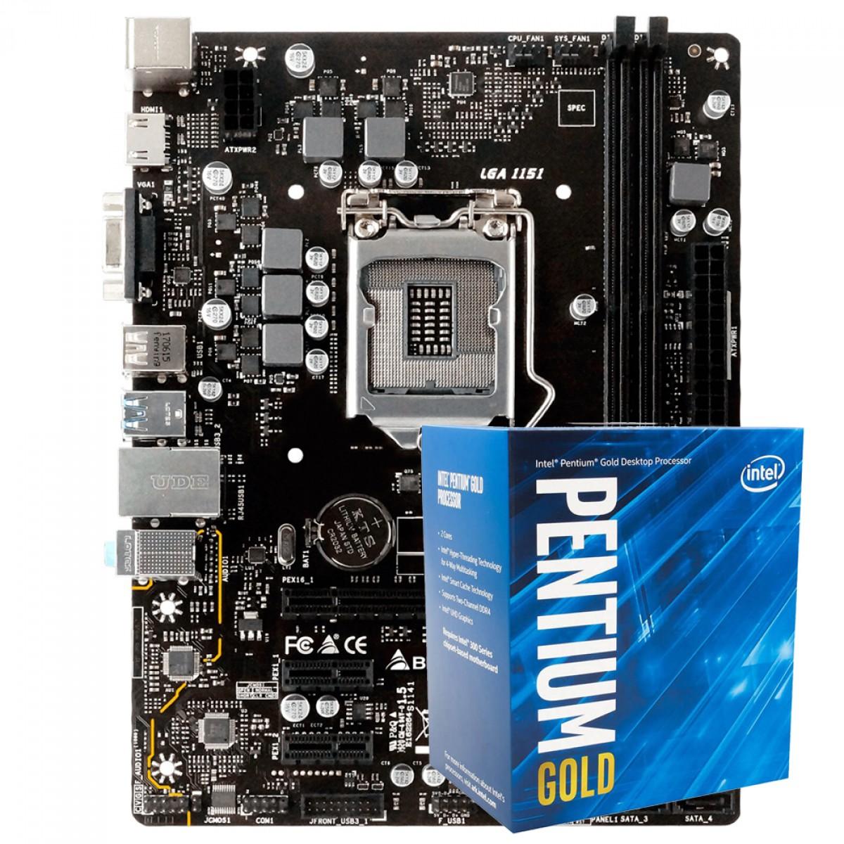 Kit Upgrade, Biostar H310MHP + Intel Pentium Gold G5420