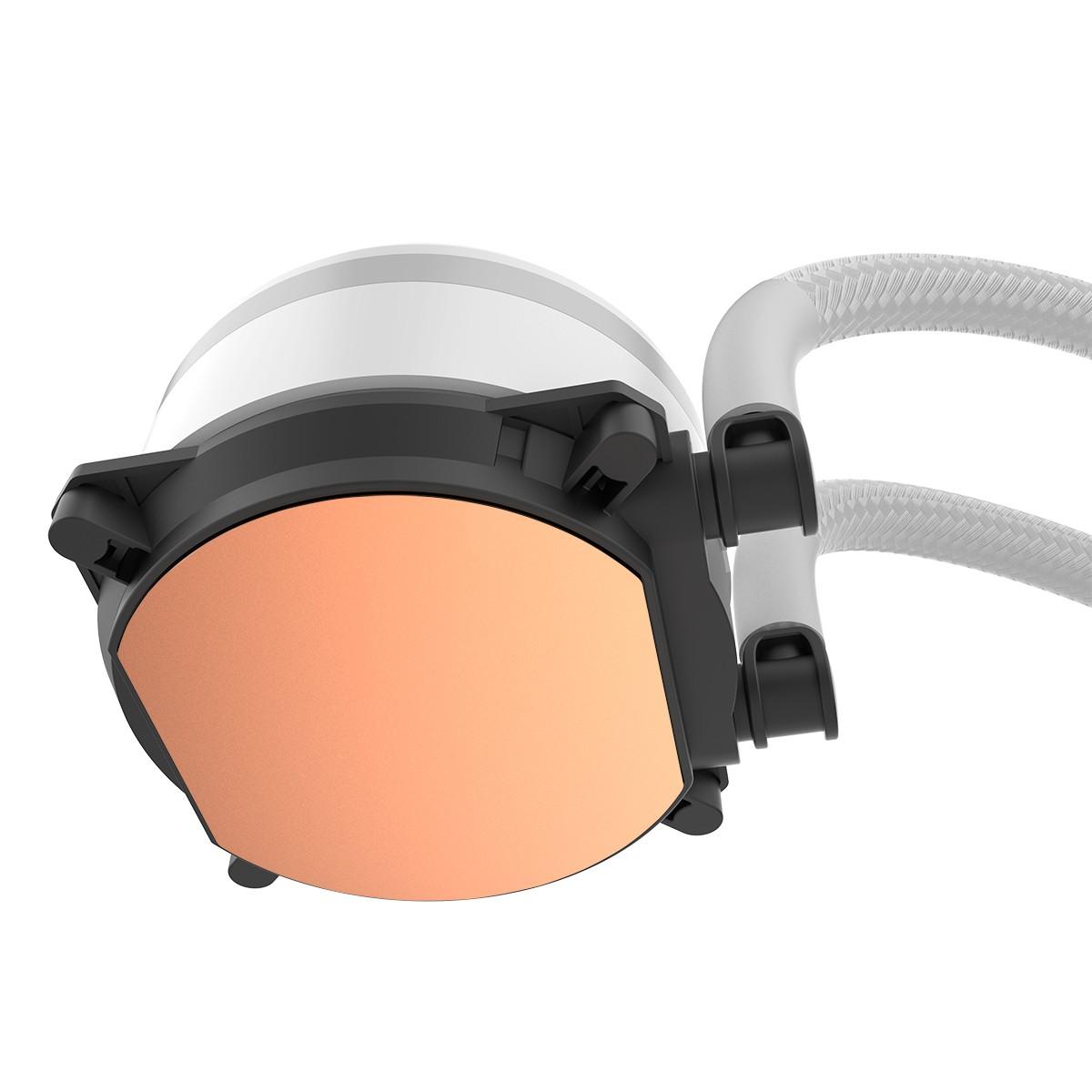 Water Cooler Alseye M120 White, 120mm, RGB, Intel-AMD